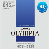 Olympia HQB-45128 Nickel Wound Long Scale Electric Bass 5-Strings 45/128