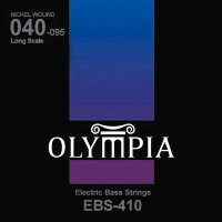 Olympia EBS-410 Nickel Wound Long Scale Electric Bass Strings 40/95