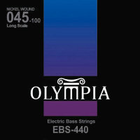 Olympia EBS-440 Nickel Wound Long Scale Electric Bass Strings 45/100