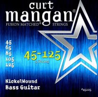 Curt Mangan 45125 Nickel Wound Bass 5-String 45/125