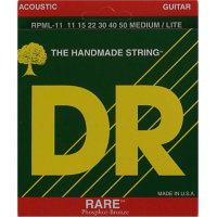 DR RPML-11 RARE Acoustic Phosphor Bronze Medium-Light Guitar Strings 11/50