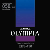 Olympia EBS-450 Nickel Wound Long Scale Electric Bass Strings 50/105