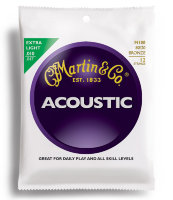 Martin M180 Traditional Acoustic 80/20 Bronze Extra Light 12-String 10/47
