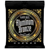 Ernie Ball 2570 Extra Light Acoustic Aluminum Bronze 10/50