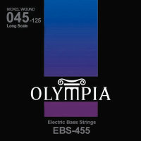 Olympia EBS-455 Nickel Wound Long Scale Electric Bass Strings 45/125