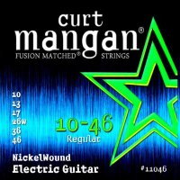 Curt Mangan 11046 Nickel Wound Electric Guitar Strings 10/46