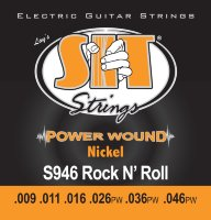 SIT S946 Rock-N-Roll Power Wound Nickel Electric Guitar Strings 9/46
