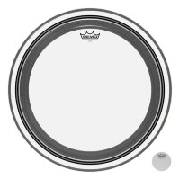 "REMO Bass POWERSTROKE® 3 Clear 20"" Diameter No Stripe Пластик прозрачный"