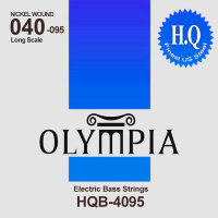 Olympia HQB-4095 Nickel Wound Long Scale Electric Bass Strings 40/95