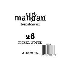 Curt Mangan 10026 26 Nickel Wound Ball End