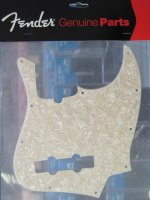 Fender Standard Jazz Bass pickguard WHITE PEARL 0992170000