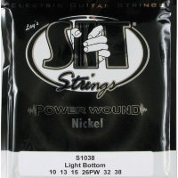 SIT S1038 Light Bottom Power Wound Nickel Electric Guitar Strings 10/38