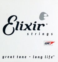 Elixir Nanoweb Electric Guitar String Singles .024