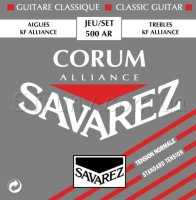 Savarez 500AR Corum Alliance Classical Guitar Strings Normal Tension