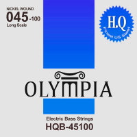 Olympia HQB-45100 Nickel Wound Long Scale Electric Bass Strings 45/100
