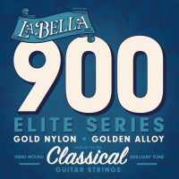 La Bella 900 Elite Gold Nylon Polished Golden Alloy