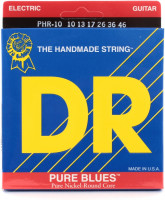 DR PHR-10 Pure Blues Nickel Plated Medium Electric Strings 10/46