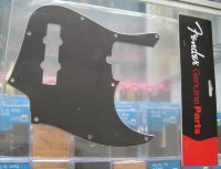 Fender American Deluxe Jazz Bass 2010 pickguard 3-ply black 0077643000