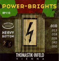 Thomastik-Infeld Power Bright RP110 Heavy Bottom Medium Light Electric Guitar Strings 10/50