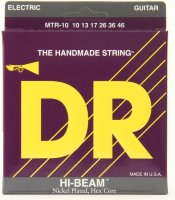DR MTR-10 Hi-Beam Nickel Plated Medium Electric Strings 10/46