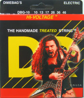 DR DBG-10 Hi-Voltage Nickel Plated Medium Electric Strings 10/46
