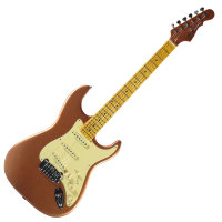 G&L LEGACY (Spanish Copper Metallic. 3-Ply Vintage, Creme Maple)