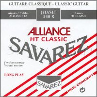 Savarez 540R Alliance HT Classic Classical Guitar Strings Normal Tension