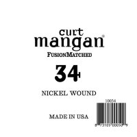 Curt Mangan 10034 34 Nickel Wound Ball End