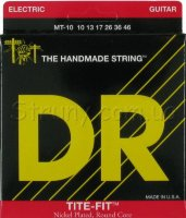 DR MT-10 Tite-Fit Nickel Plated Medium-Tite  Electric Strings 10/46