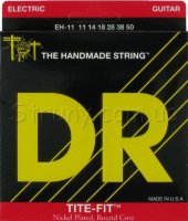 DR EH-11 Tite-Fit Nickel Plated Heavy Electric Strings 11/50