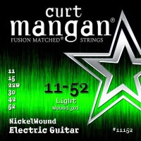 Curt Mangan 11152 Nickel Wound Electric Guitar Strings 11/52