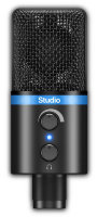 IK Multimedia iRig Mic Studio (Black) Студийный микрофон USB для iOS/Android/Mac/PC