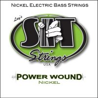 SIT NR45105L Power Wound Nickel Medium Light Electric Bass Strings 45/105