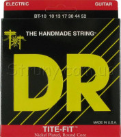 DR BT-10 Tite-Fit Nickel Plated Big-n-Heavy Electric Strings 10/52
