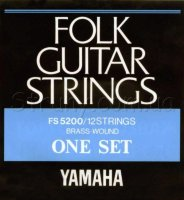 Yamaha FS5200 Folk Guitar 12 Strings Brass Wound 10/47