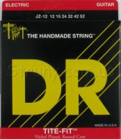 DR JZ-12 Tite-Fit Nickel Plated Jazz Electric Strings 12/52