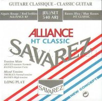 Savarez 540ARJ Alliance HT Classic Classical Guitar Strings Mixed Tension