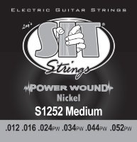SIT S1252 Jazz Light Power Wound Nickel Electric Guitar Strings 12/52