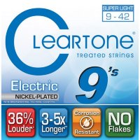 Cleartone 9409 Coated Electric Guitar Strings Super Light 9/42