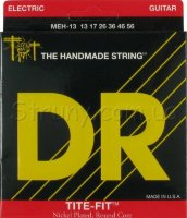 DR MEH-13 Tite-Fit Nickel Plated Mega Heavy Electric Strings 13/56