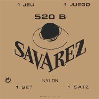 Savarez 520B White Traditional Classical Guitar Strings Low Tension