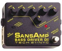 Tech21 Sansamp Bass Driver DI Бустер
