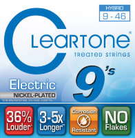 Cleartone 9419 Coated Electric Guitar Strings Hybrid 9/46