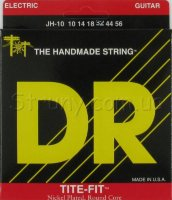 DR JH-10 Tite-Fit Nickel Plated Jeff Healey Medium Electric Strings 10/56