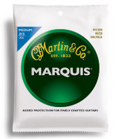 Martin M1200 Marquis 80/20 Bronze Medium Acoustic Guitar Strings 13/56