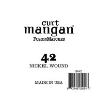 Curt Mangan 10042 42 Nickel Wound Ball End