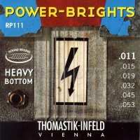 Thomastik-Infeld Power Bright RP111 Heavy Bottom Medium Electric Guitar Strings 11/53