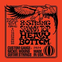 Ernie Ball 2624 8-String Slinky Nickel Wound 9/80