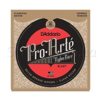D'Addario EJ47 Classical 80/20 Bronze Wound Nylon Normal Tension