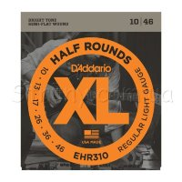 D'Addario EHR310 Half Rounds Regular Light 10/46